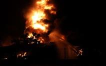 Cháy kinh hoàng ở Bình Dương: Lửa tắt, nhà máy thành tro