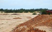 Đề nghị thu hồi 257ha đất của 52 công trình, dự án