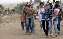 130.000 người Syria chạy sang Thổ Nhĩ Kỳ để tránh IS