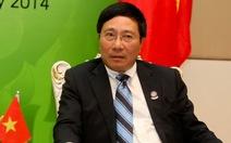 Phó Thủ tướng Phạm Bình Minh sẽ thăm chính thức Hoa Kỳ