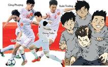 U-19 Việt Nam lên truyện tranh