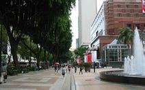 Singapore biến một phần tuyến đường trung tâm thành phố đi bộ