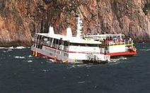 Tàu du lịch Hàn Quốc va đá ngầm, 109 người được cứu