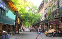 Hà Nội bố trí 30 chốt trực cấm xe vào phố đi bộ