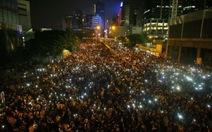 Người biểu tình Hong Kong tổ chức đêm hội