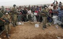 Thổ Nhĩ Kỳ điều xe tăng đến biên giới Syria