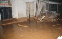 Vỡ đập chứa, bùn thải tràn vào nhà dân