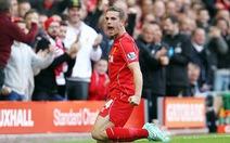 Henderson tỏa sáng, Liverpool đá bại West Brom 2-1