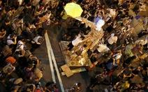 Sinh viên Hong Kong tiếp tục biểu tình