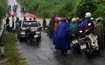 Mưa lớn gây ngập ở Quảng Bình