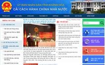 Khánh Hòa ra mắt cổng thông tin cải cách hành chính