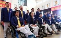 Đoàn thể thao người khuyết tật VN xuất quân đi Incheon