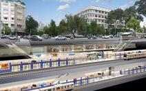 11-10: Phân luồng giao thông thi công đường Nguyễn Huệ
