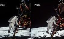 Đã tìm ra lời giải về ảnh đổ bộ Mặt trăng