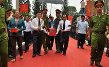 Truy điệu, an táng 36 liệt sĩ hi sinh tại căn cứ Hoàng Diệu