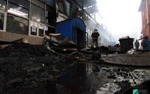 Cháy chợ người Việt ở Nga: thiệt hại nhiều triệu USD