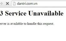 Nhiều website lại không truy cập được