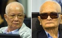 Hai thủ lĩnh Khmer Đỏ tiếp tục bị xử tội diệt chủng