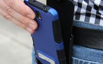 Một ngày công nghệ:điện thoại lại đeotrên thắt lưng