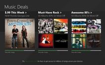 Microsoft Music Deals: mua album nhạc giá 2 USD