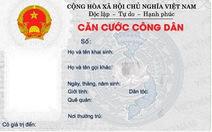 Sử dụng thẻ căn cước công dân thay chứng minh thư