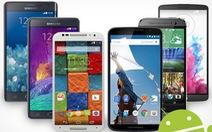 Smartphone cao cấp nhất 2014 so cấu hình