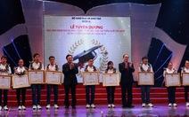 Tuyên dương 11 học sinh đạt HCV Olympic quốc tế