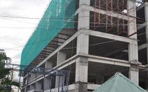 Chung cư xây dựng không phép: tạm đình chỉ ba công chức