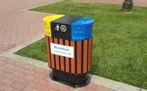 Chăm chút hơn cho thùng rác công cộng
