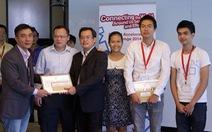Kỹ sư Việt được vinh danh ở Singapore