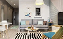 Độc đáo căn hộ nhỏ xinh cho đôi vợ chồng trẻ