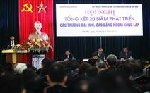 Bộ GD-ĐT khôngtổ chức tiếp kháchnhân ngày 20-11