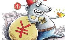 """""""Con hổ nước"""" Trung Quốc giấu 1,5 tấn tiền trong nhà"""