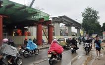 Thi công lại một số hạng mục đường sắt Cát Linh - Hà Đông