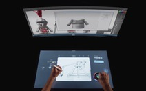 Một ngày công nghệ: Tương laimáy tính để bàn là... chiếc bàn