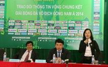 Tuyển VN đặt mục tiêu vô địch AFF Cup 2014