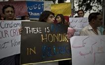 """Hàng ngàn người Pakistan bị sát hại """"vì danh dự"""""""