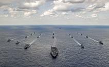 """Hình ảnh tập trận trên biển """"phức tạp nhất"""" giữa Mỹ - Nhật"""
