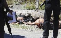 Mexico giải tán cảnh sát vì vụ 43 sinh viên bị giết