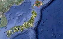 Lời cầu hôn bằng bản đồ GPS lớn nhất thế giới
