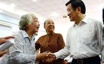 Chủ tịch nước Trương Tấn Sang:Ủng hộ công khai tài sản của cán bộ