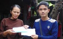 Hơn 15 triệu đồng tặng vợ con cựu binh hải quân