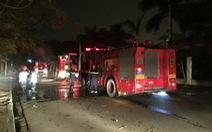 Cháy lớn trong đêm tại Cụm Công nghiệp Từ Liêm