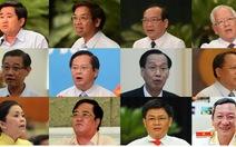 Kết quả lấy phiếu tín nhiệm 18 lãnh đạo TP.HCM
