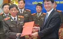 Học viện an ninh nhân dân ký hợp tác hưởng ứng MOSWC