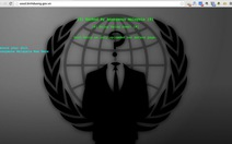 "Hacker Anonymous Malaysia ""hạ gục"" 50 website Việt Nam"
