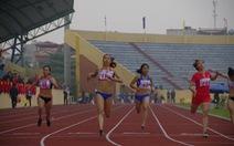 Vũ Thị Hương đoạt HCV  cự ly 100m  ở Đại hội TDTT toàn quốc 2014