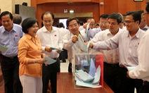 Bà Nguyễn Thị Quyết Tâm được tín nhiệm cao nhất