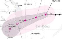 Bão ảnh hưởng từ Khánh Hòađến Bà Rịa - Vũng Tàu