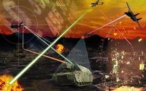 Video Mỹ công bố vũ khí laser bắn nhiều mục tiêu